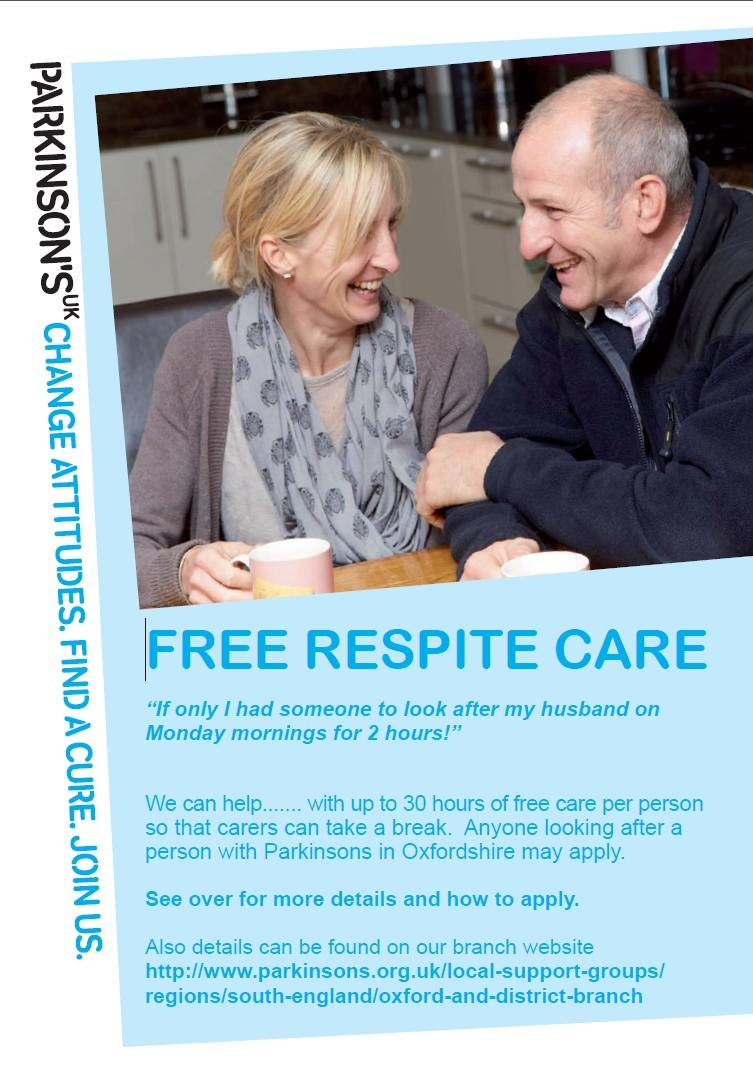 Respite care flyer Page 1