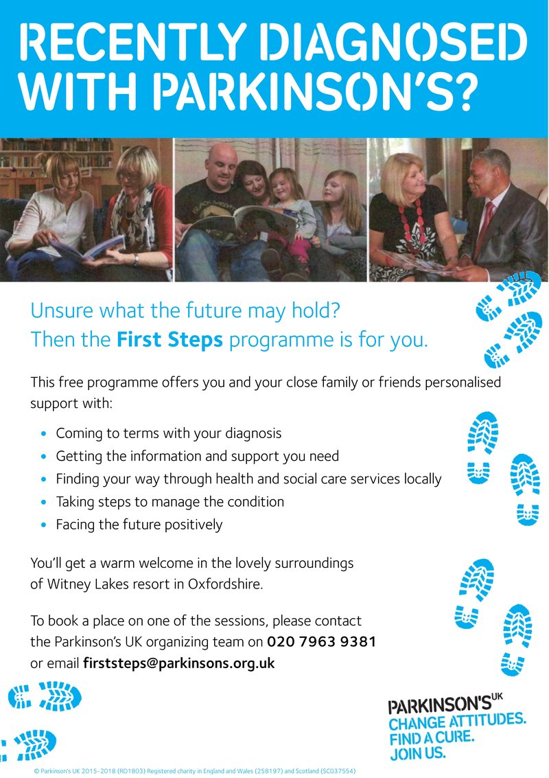 First Steps leaflet